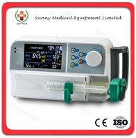 SY-G079-1 Guangzhou Medical Safely Use IV Pump Multi Injection Modes Cheap IV Syringe Pump