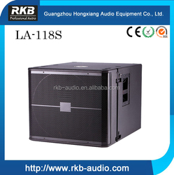stage subwoofer speaker /stage subwoofer box design/concert stage subwoofer