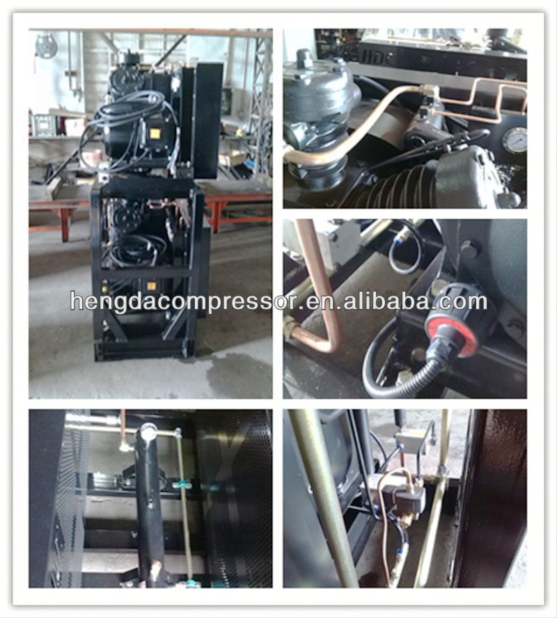 High Pressure 3 Reasonable structure piston air compressor machine 21CFM 3553PSI 20HP 0.61m3 245bar 15kw