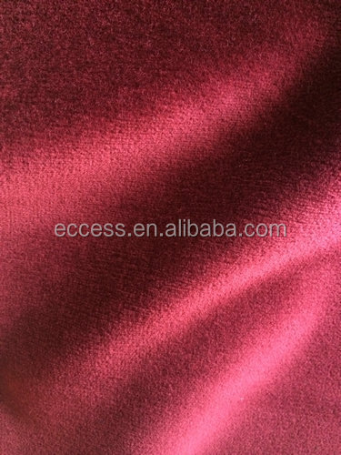 cotton velvet upholstery fabric home textile fabric