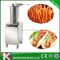 electric Sausage used meat mixer meat processing machines/sausage stuffer