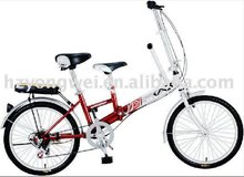 2012 Design Factory Manufacture Double Seats Foldaway Cycle