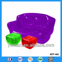 Hot sale inflatable furniture, inflatable chair and stool, inflatable sofa chair and stool
