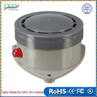 ABS Plastics Water Leak Detector Water Sensor Leak Alarm with Caution Light Home Security Durable Quality