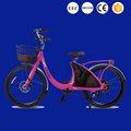 24 inch elegant lark electric bicycle for young lady from factory