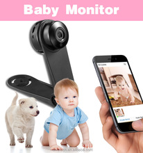 Smart security camera mobile phone walkie talkie video baby monitor