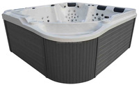 LED lights setting massage hot tub outdoor spa pool sexy masage spa