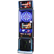 2 Screens Coin Operated Electronic Phoenix Dart Boards Machine