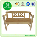 Wooden hot sale new design garden flower benches