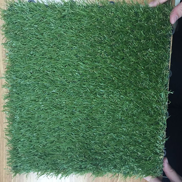 Garden Use Interlocking Artificial Grass Tile