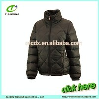 Casual Basic Style Winter Ladies Jacket