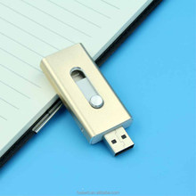 OTG Usb Flash Drives,OTG Usb For Iphone 6 & PC Pendrive Memory Stick OTG Ultra Dual 16GB USB Micro Pen Flash Driver
