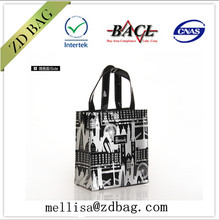 custom made pvc vinyl shopping bag shiny shopper tote bag