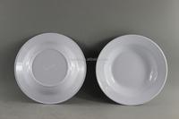 White Melamine Dinnerware,7 Inch Melamine Soup Plate/Deep Dish