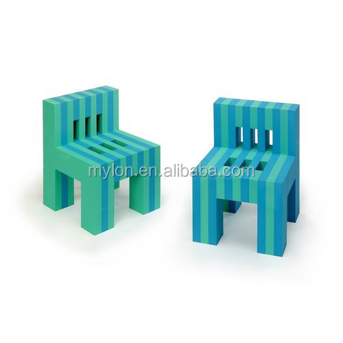 EVA Foam Children Study Table and Chair Set Furnitures