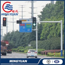 Good quality promotional signs for galvanized steel traffic pole