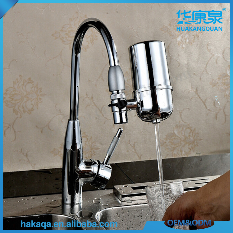 Ceramic Faucet Alkaline Water Quick Change Reusable Washable Water Filters