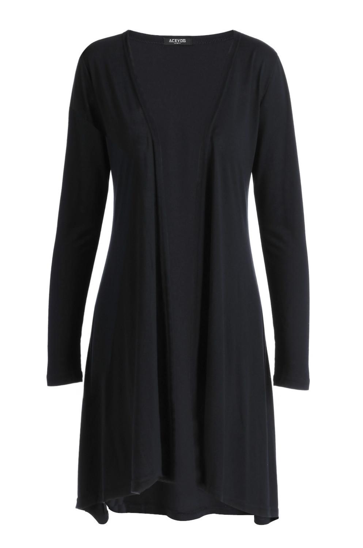 Cheap Black Short Sleeve Cardigan Plus Size, find Black Short ...