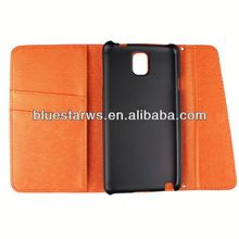In stock with cheap price leather case for samsung note3 phone case sublimation leather case for galaxy note3
