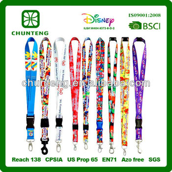 Fashion neck lanyard/lanyards factory