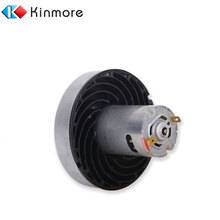 Permanent Magnet 2HP 12 Volt 12V 24V 250W 500W 5KW Small DC Vacuum Cleaner Electric Motor For Profession Customization All Motor