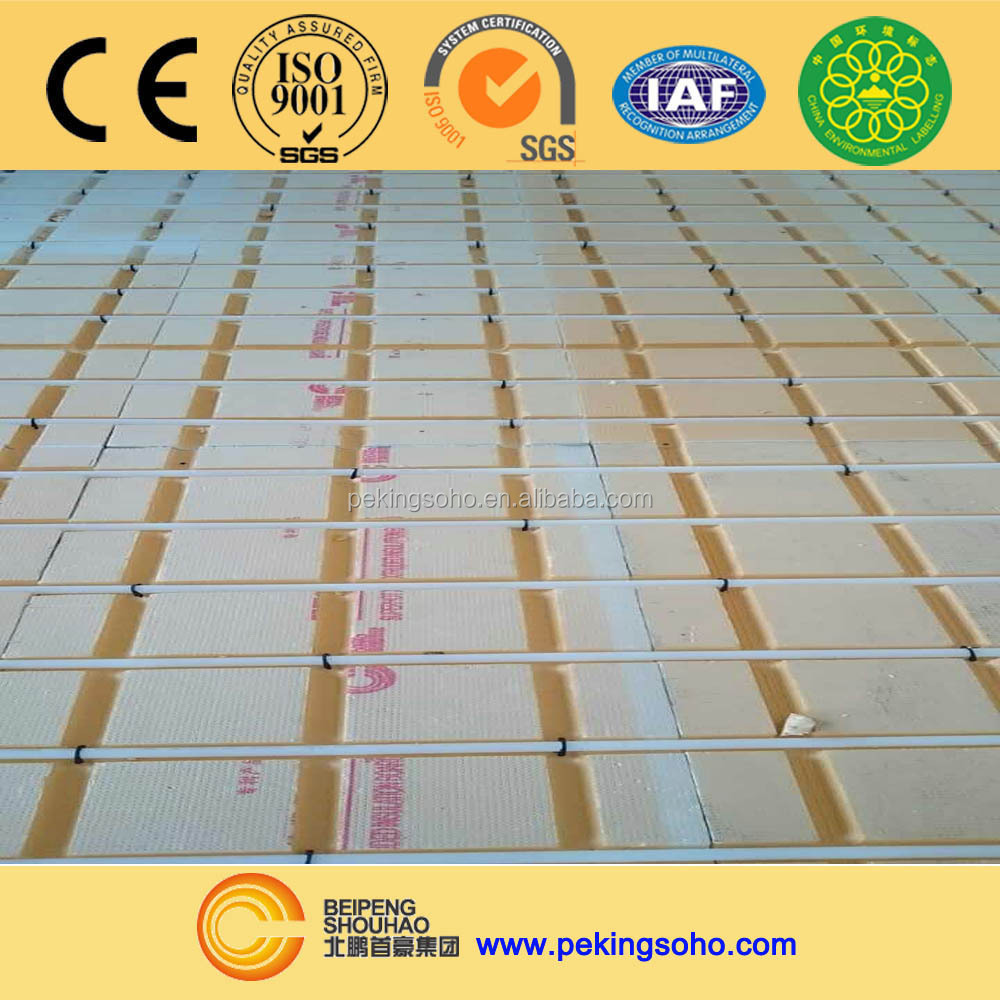 SUPERHOT Floor insulation XPS Foam Panel
