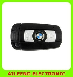 Night Vision HD With Motion Detect 1280 X 720 Car Key Camera DVR