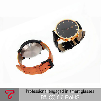 2016 fashion smart quartz watch stainless steel sport watch leisure healthy watch