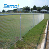 Used PVC Coated Galvanized Football Fence Chain Link Wire Mesh In Roll