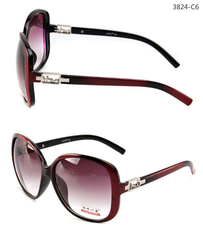 UV400 beautiful women sunglasses 3824
