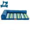 Green and Blue Waterproofing Cool Dog Summer Matress Bed