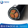 High quality 4x185mm2 Low voltage 0.6/1KV CU/AL conductor PVC XLPE insulation power cable