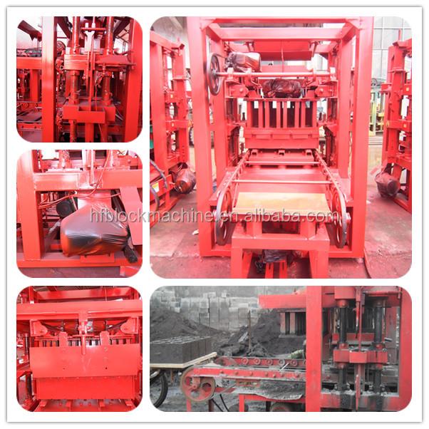 Qt4 26 bloc de b ton machine manuel eletric bloc faisant - Palette europeenne dimension ...