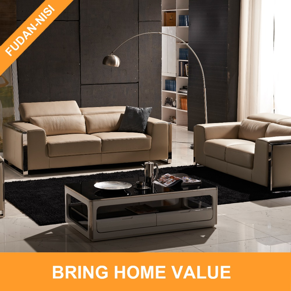 Beau Stainless Steel Genuine Thick Contemporary Leather Sofa In Factory Price    Buy Contemporary Leather Sofa,Genuine Thick Leather Sofa,Factory Price Sofa  ...