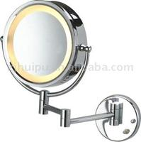 Cosmetic wall-mounted magnifying LED light mirror MC-98 in hotel and at home