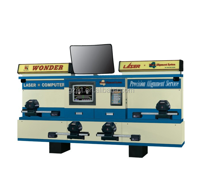 Wonder wheel alignment , wheel aligner PL-989 Laser Computer