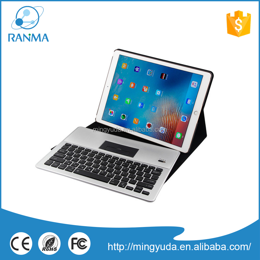 Cheap Price ultra-slim bluetooth keyboard aluminum case for tablet pc