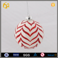 Personalized christmas glass ball ornaments for wholesale