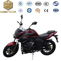 Made in china LED lights 300cc automatic motorcycles