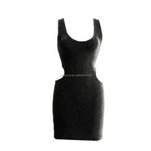 OEM Factory Sexy Women's Backless Slim Fit Seamless Sleeveless Tube Party Dress