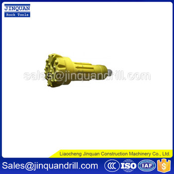 DHD/ IR/ Mission DTH drill bit working with DTH drilling pipe and DT hammer