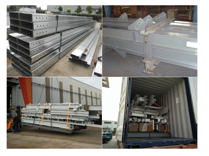 Lower cost prefabricated light steel struction factory