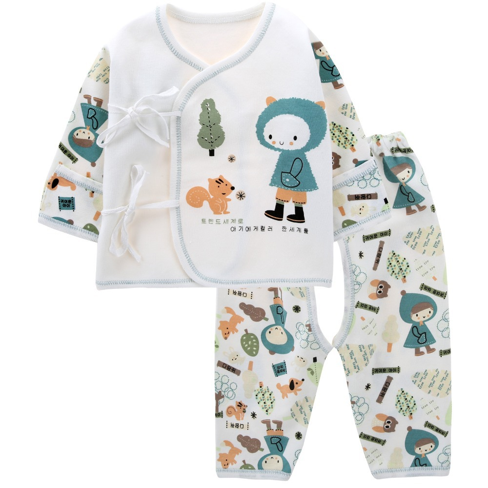 Buy New born Infantil Cotton Squirrel Long sleeve Baby Boy Clothing ...