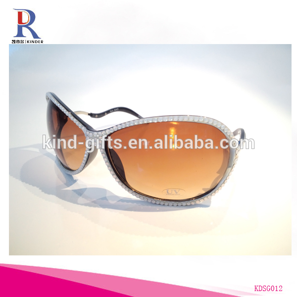 Bling bling rhinestone crystal high quality sunglasses for women