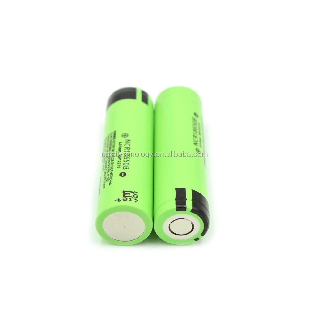 High Quality Ncr18650b 3.7v 3400mAh Rechargeable Li-ion Battery,NCR18650B 3400mAh 3.7V rechargeable battery use for flashlight
