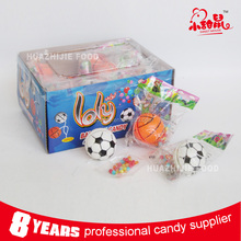 Wholesale factory price basketball and football toy candy