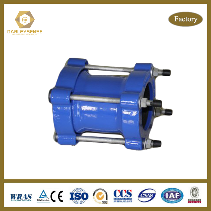 Advanced technology ductile iron universal coupling drawing high quality