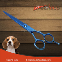 ST-7P3 Blue Dog grooming scissors,Pet grooming