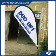 High Strength Factory Price Flying Banners With Flag Poles