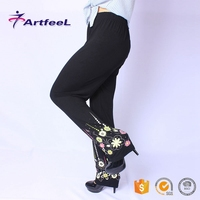 Madal plus size ladies designs cotton new design trousers